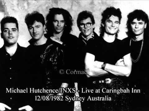 Michael Hutchence & INXS    Sydney, Australia 1982 12/08