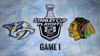 Rinne's 29-save shutout powers Preds to Game 1 win