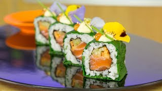 Salmon Paradise Sushi Roll - How to Make Sushi