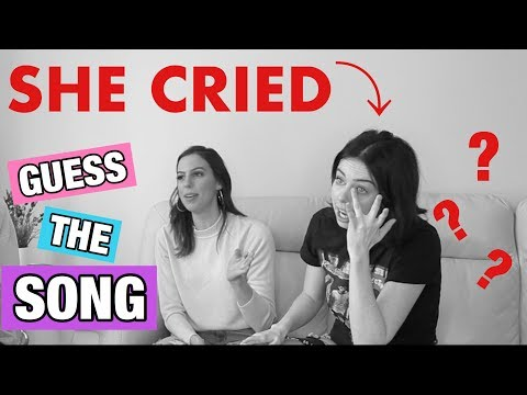 GUESS THE SONG CHALLENGE *EMOTIONAL* **SHE CRIED**