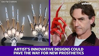 Artist's innovative designs could pave the way for new prosthetics