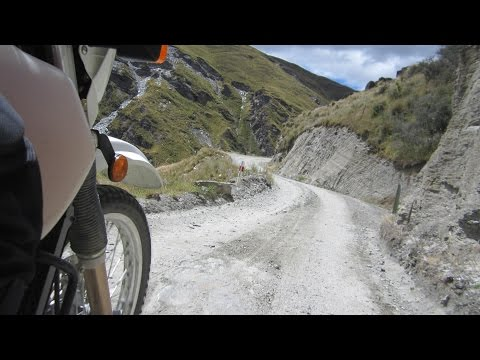 DR650 Gravel Rd Discovery New Zealand S.I. Day 9 Ride 1. Tunes Five twenty by Jared Marshall.