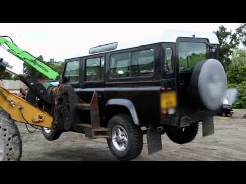 CBP Destroys Illegally-Imported Land Rover