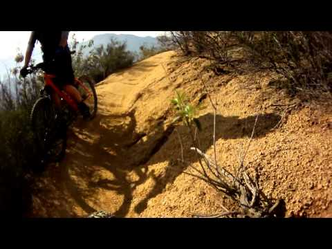 MTB CRASH AT SAN JUAN TRAIL IN OC, CALI OF ORTEGA HWY