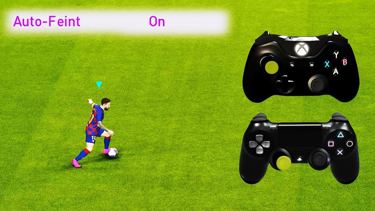 PES 2020 Auto Feint ON Tutorial Videosu