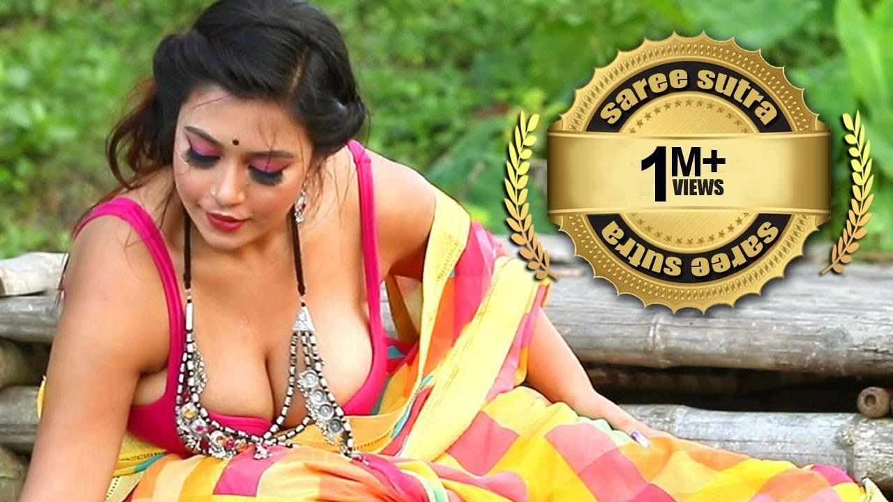 Download Saree Photoshoot   Fashion Model Rimpi   Saree Sutra