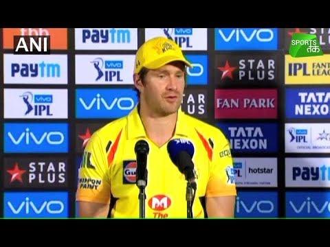 Watson Fullfils His Dream in Chennai Jersey | Sports Tak