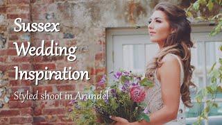Sussex Wedding Inspiration   Styled Shoot at Slindon House, Arundel