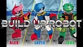 2015年10月、ブロック玩具 LaQのラインナップに 新シリーズ「ビルドアップロボ」が登場! LaQ殿堂ユーザーのKen01達人によるクールなデザインの全身...