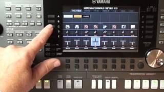 YAMAHA PSR - S970 Workshop 13 Sound Der Rhythmus-Spuren ändern