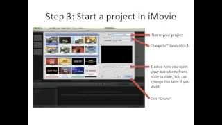 How to make lecture videos from Powerpoint using iMovie