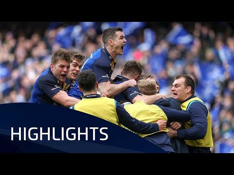 Leinster v Saracens (QF1) - Highlights – 01.04.2018