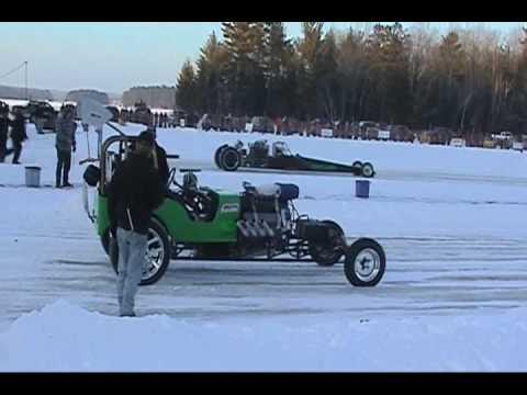 A Wonderful Bad Idea: Drag Racing on Ice