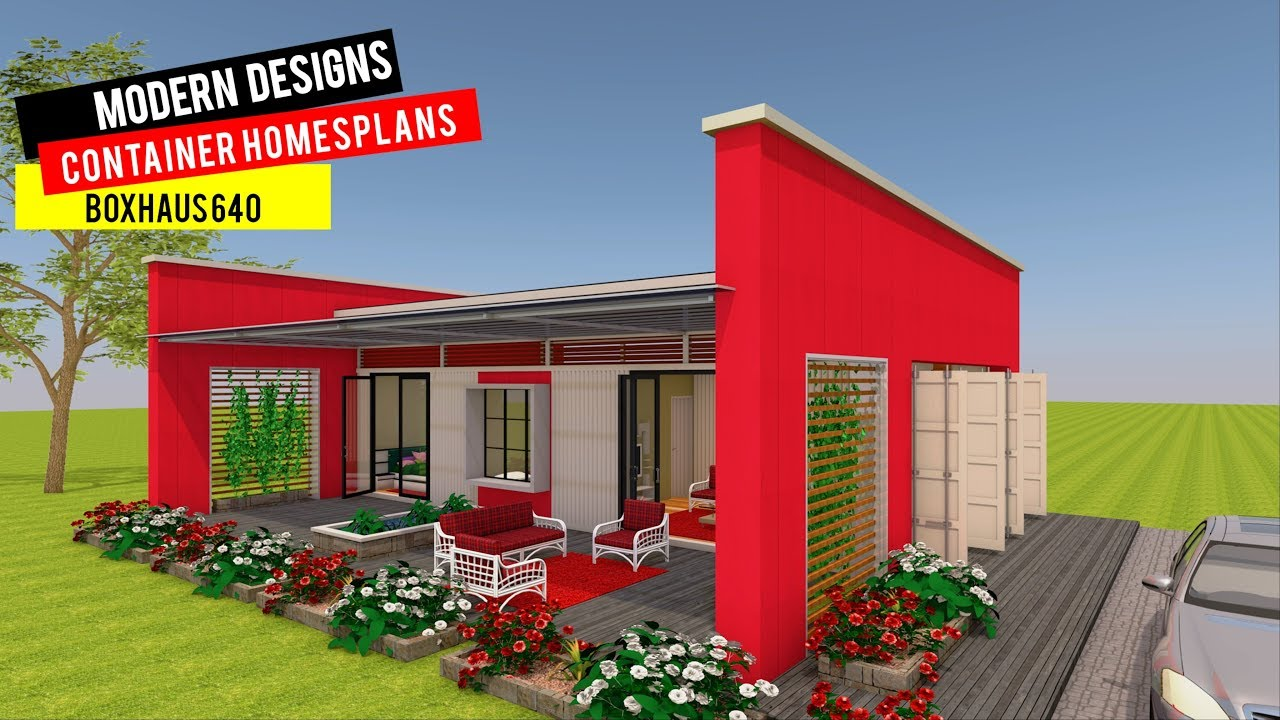 Shipping Container HOMES PLANS And MODULAR PREFAB Design Ideas | BOXHAUS 640