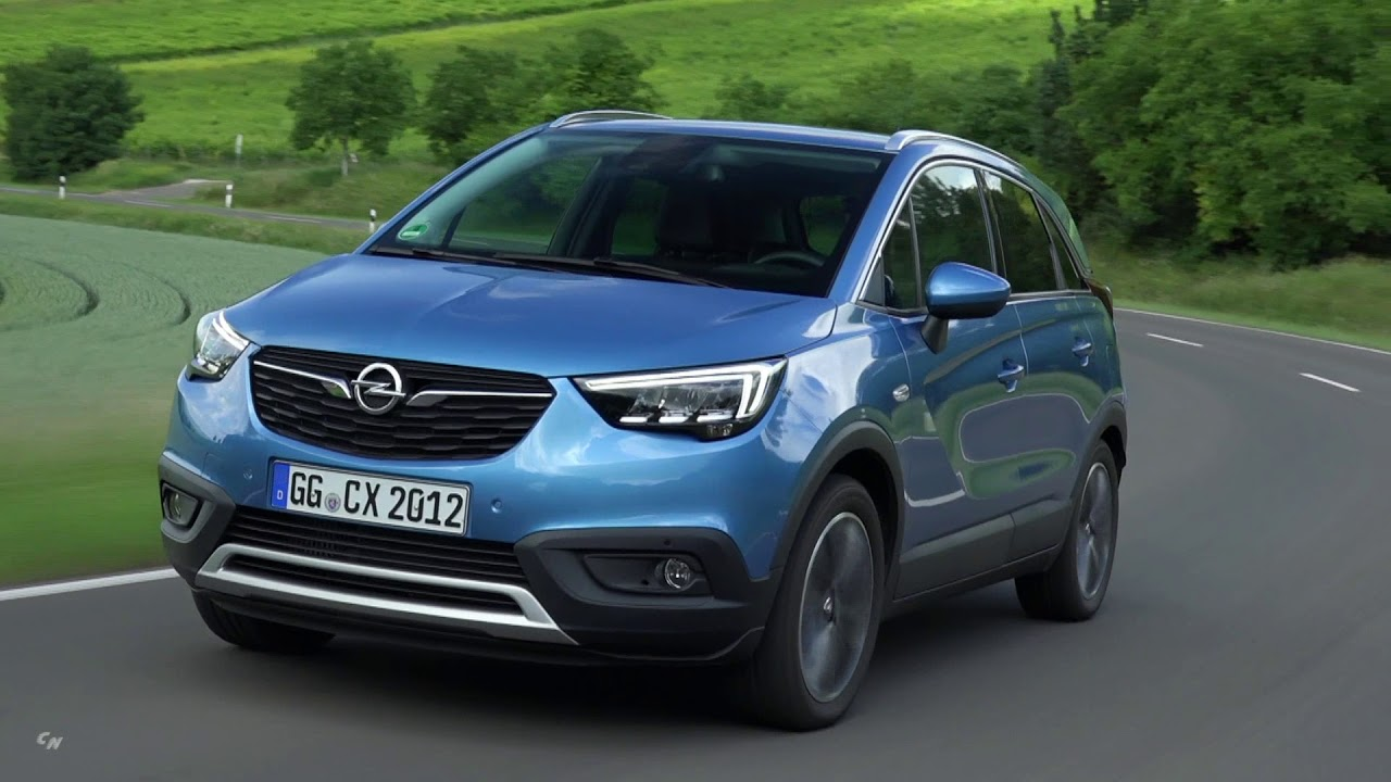 2019 opel crossland x - interior exterior and drive - youtube