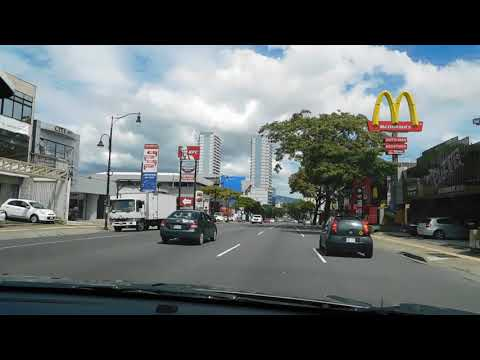 VIDEO PASEO COLON AVENIDA 0 SAN JOSE COSTA RICA