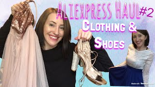 Aliexpress Haul #2 | Clothing & Shoes |