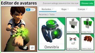 WE CREATE THE BEN 10 PROFILE IN ROBLOX ROBLOX BEN 10 ROLEPLAY MORTIS