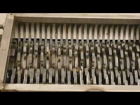 DIY Shredder first test