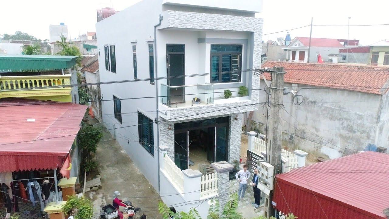 Thực Tế Mẫu Nhà Ống 2 Tầng Đẹp 160m2 Giá 800 Triệu Do KISATO Thiết Kế Tại Thanh Hóa