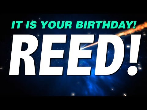 HAPPY BIRTHDAY REED! This is your gift.