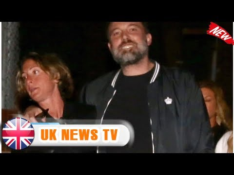 Ben affleck supported by female pal through streets of santa monica  UK News TV