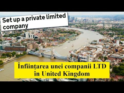 Ep. 74 - Infiintarea unei companii LTD in UK from YouTube · Duration:  13 minutes 31 seconds
