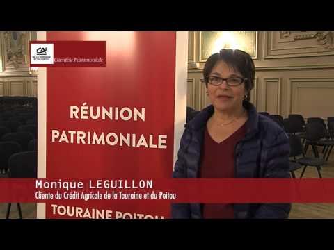 Les réunions patrimoniales du Crédit Agricole de la Touraine et du Poitou