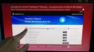 ERROR GRAVE en PlayStation Network PS4 13 Junio 2019