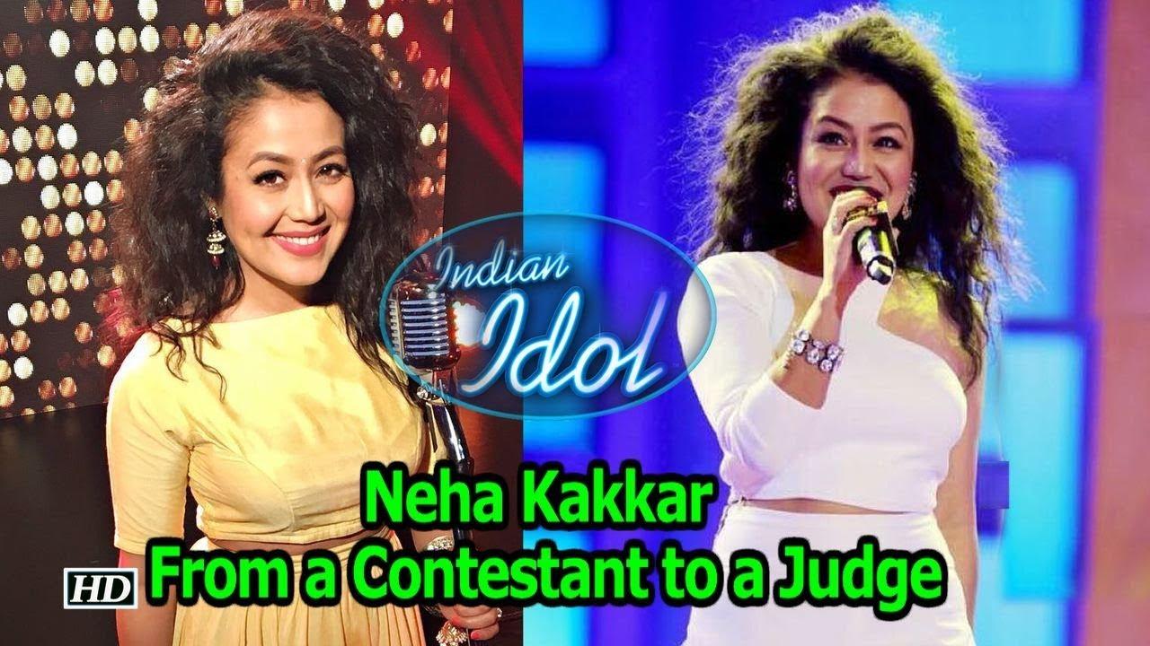 Neha Kakkar Once A Contestant Now A Judge India Idol Youtube