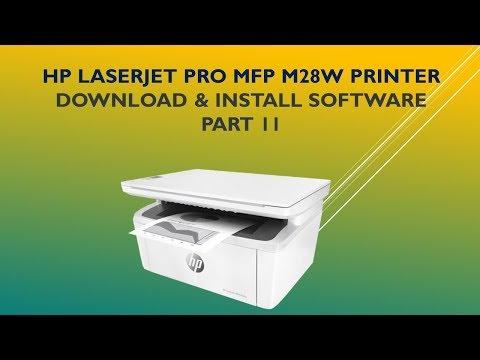 HP LaserJet Pro MFP M28w   M29w : Download & Install full feature software - Part 2