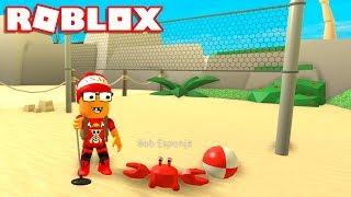 Roblox → TRABALHANDO NA PRAIA (SIMULADOR) !! - Roblox Beach Simulator 🎮