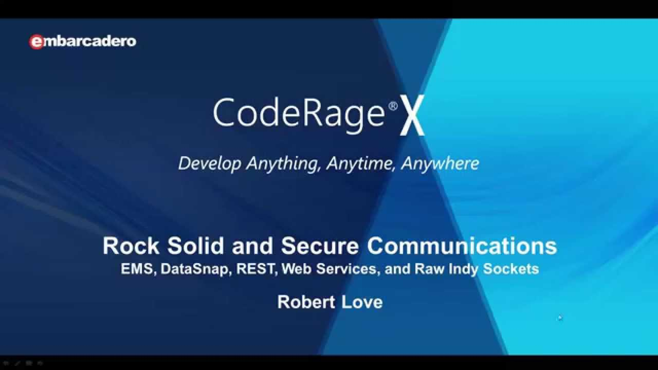 Learn To Setup And Configure SSL & TLS For RAD Studio EMS