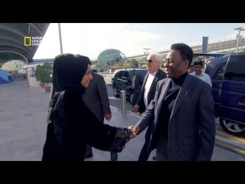 Le footballeur Pelé, un client VIP