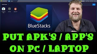 How To Install Apps On A PC  |  Using Bluestacks