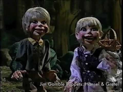Scenes from Hansel & Gretel - Jim Gamble Puppet Productions