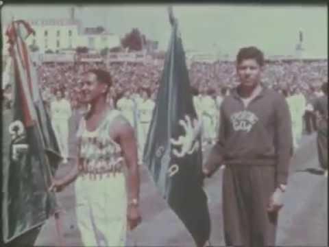 Inauguração do Estádio José de Alvalade a 10/06/56