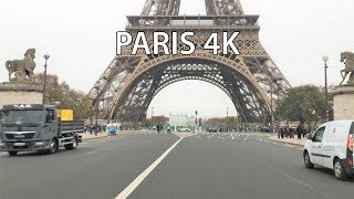 Paris 4K - Eiffel Tower Drive