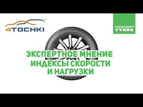 Nokian Tyres Экспертное мнение Индексы скорости и нагрузки