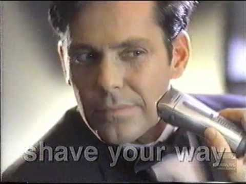 Panasonic Electric Razor | Television Commercial | 1997