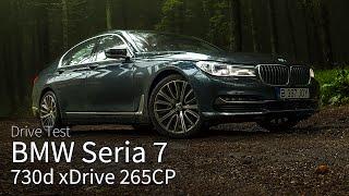 BMW Seria 7 730d 265CP xDrive 2016 / Test Drive