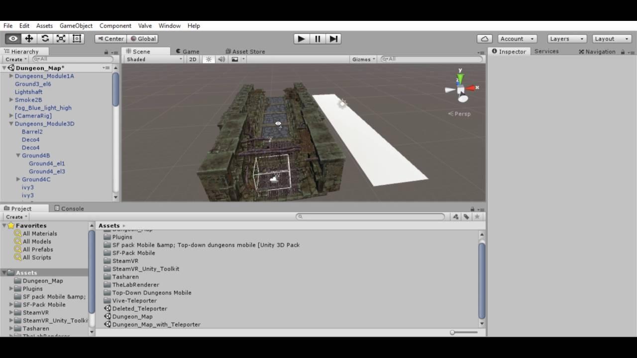 Steam VR - Unity Vive Teleporter Tutorial - Cheating on Irregular Surfaces