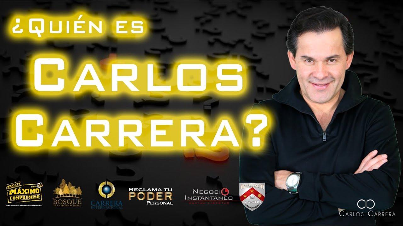 Quien Es El Mentor Carlos Carrera