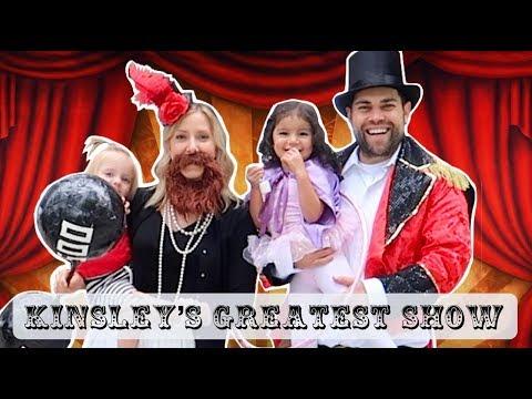 THE GREATEST SHOWMAN CIRCUS 3RD BIRTHDAY 🎪  Kinsley's Greatest Show