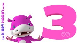 Number Three| Original Number and Counting Songs for Children | Hippy Hoppy Show