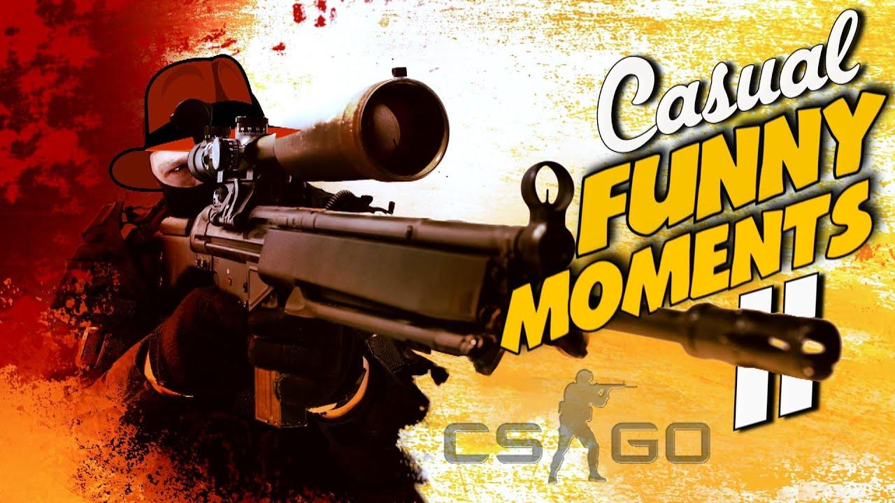 CS GO - Casual Funny Moments 2! - YouTube