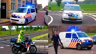 COMPILATIE 35X PRIO 1 POLITIE SPOEDRITTEN IN WATERLAND & AMSTERDAM.