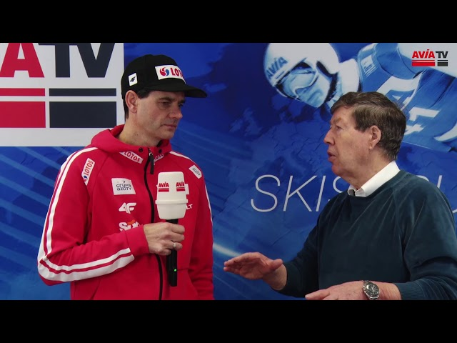 Trainer der polnischen Mannschaft Stefan Horngacher in Willingen
