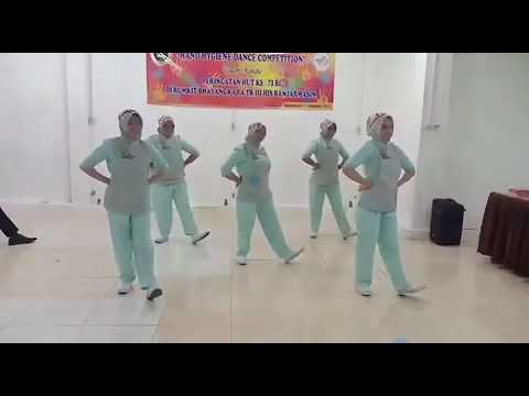 DANCE CUCI TANGAN 6 LANGKAH RS Tk.III BHAYANGKARA BANJARMASIN