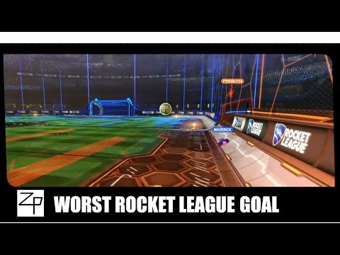Worst Rocket League Goal Ever